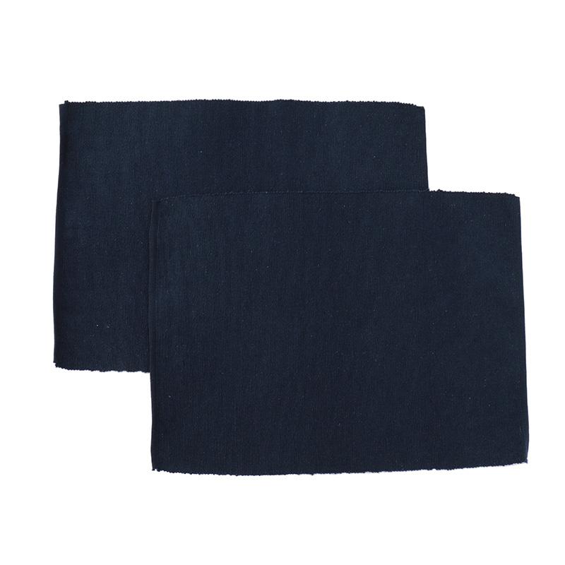 heren moore revival table mats indigo pair プレースマット the