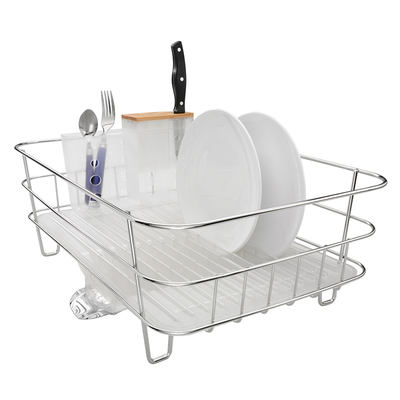 SIMPLE HUMAN  SLIM WIRE FRAME DISH RACK