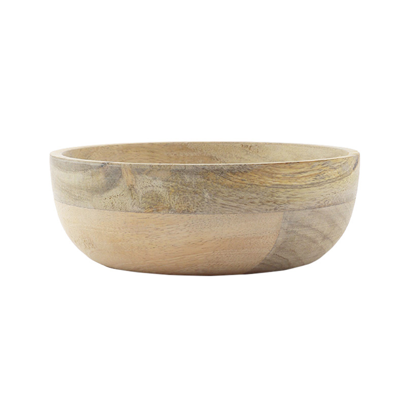 URBAN NATURE CULTURE BOWL NATURAL MANGO WOOD LARGE