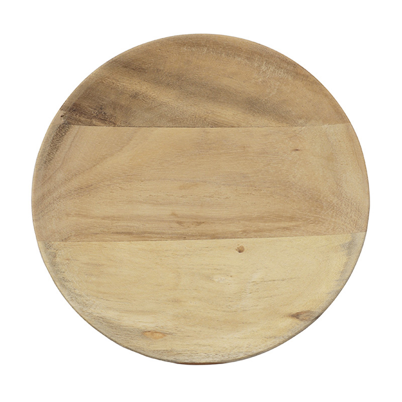 URBAN NATURE CULTURE PLATE ACACIA WOOD 18CM