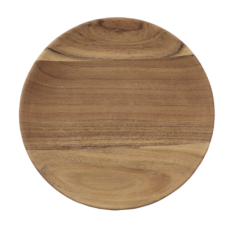 URBAN NATURE CULTURE PLATE ACACIA WOOD 23CM