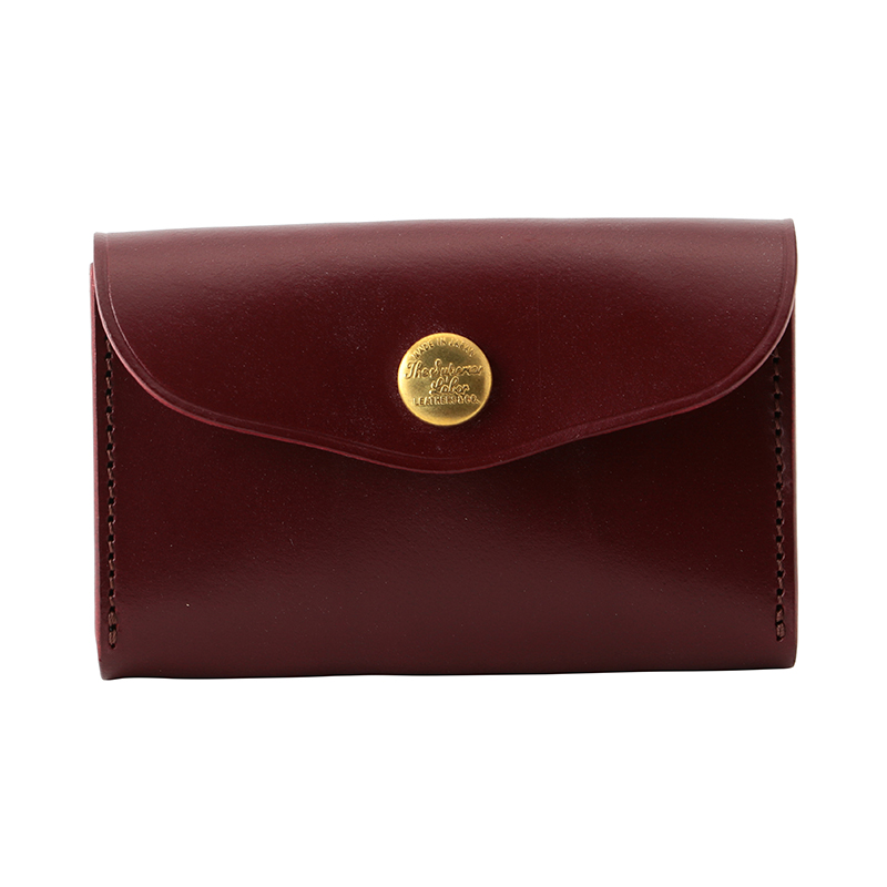 THE SUPERIOR LABOR BUSINESS CARDCASE BURGUNDY