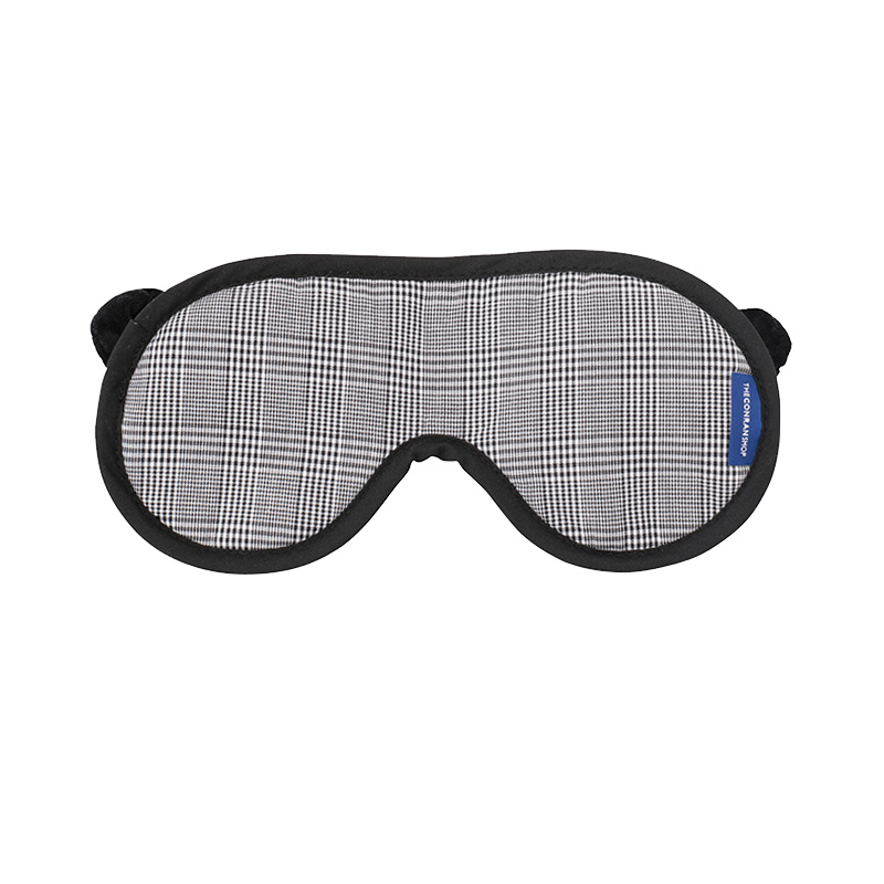 ORIGINAL EYEMASK BLACK CHECK