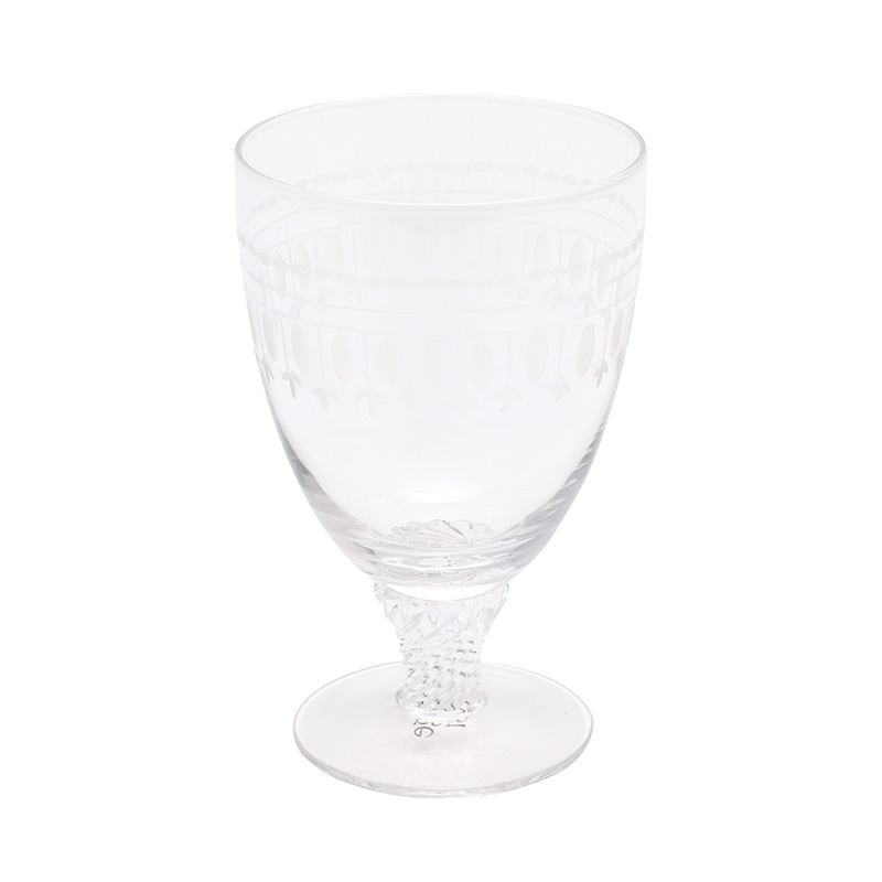 THE BISTRO GLASS OVAL PATTERN
