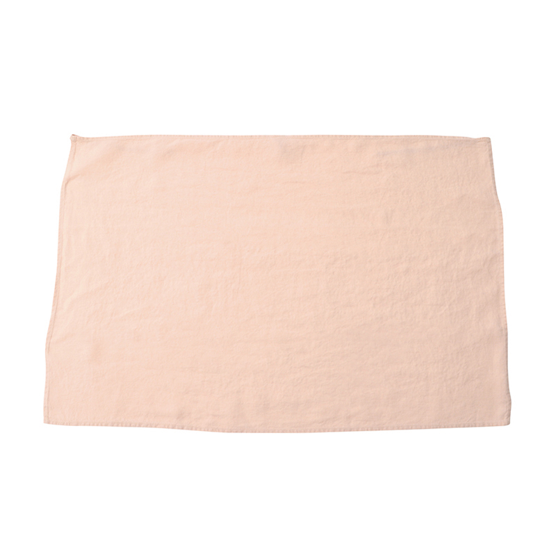 LINGE PARTICULIER DISH/HAND TOWEL 55X80CM NUDE