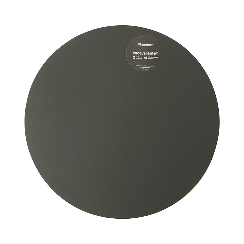 RUCA ROUND PLACEMAT 36CM - GREY