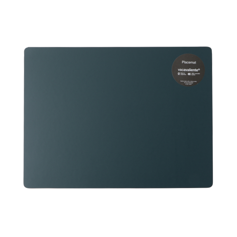 RUCA RECTANGLE PLACEMAT 3OCM X 40CM PETROL