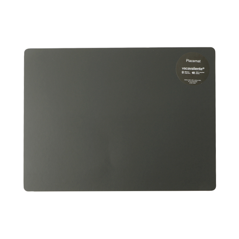 RUCA RECTANGLE PLACEMAT 30CM X 40CM GREY