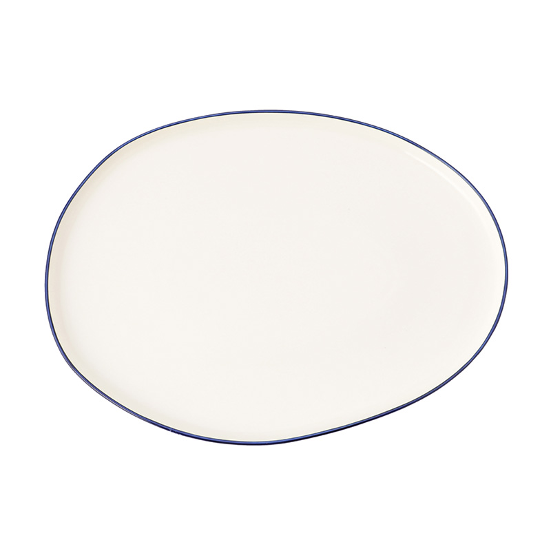 ABBESSES PLATTER BLUE