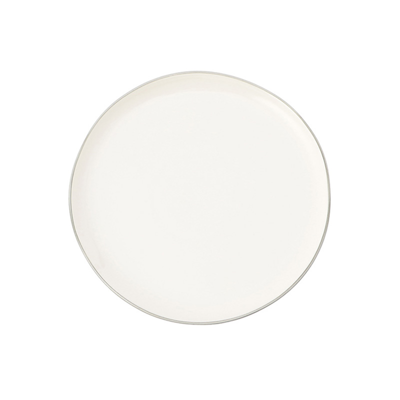 ABBESSES PLATE GREY 21CM