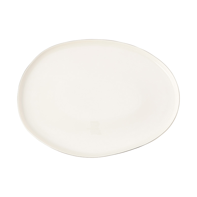 ABBESSES PLATTER PLATINUM