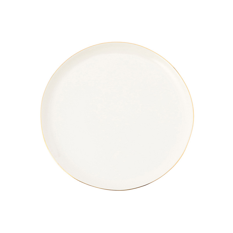 ABBESSES PLATE GOLD 21CM