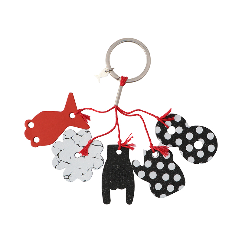 LUCKY CHARM KEY RING