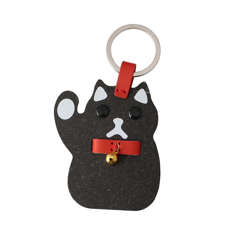 FORTUNE CAT KEY RING