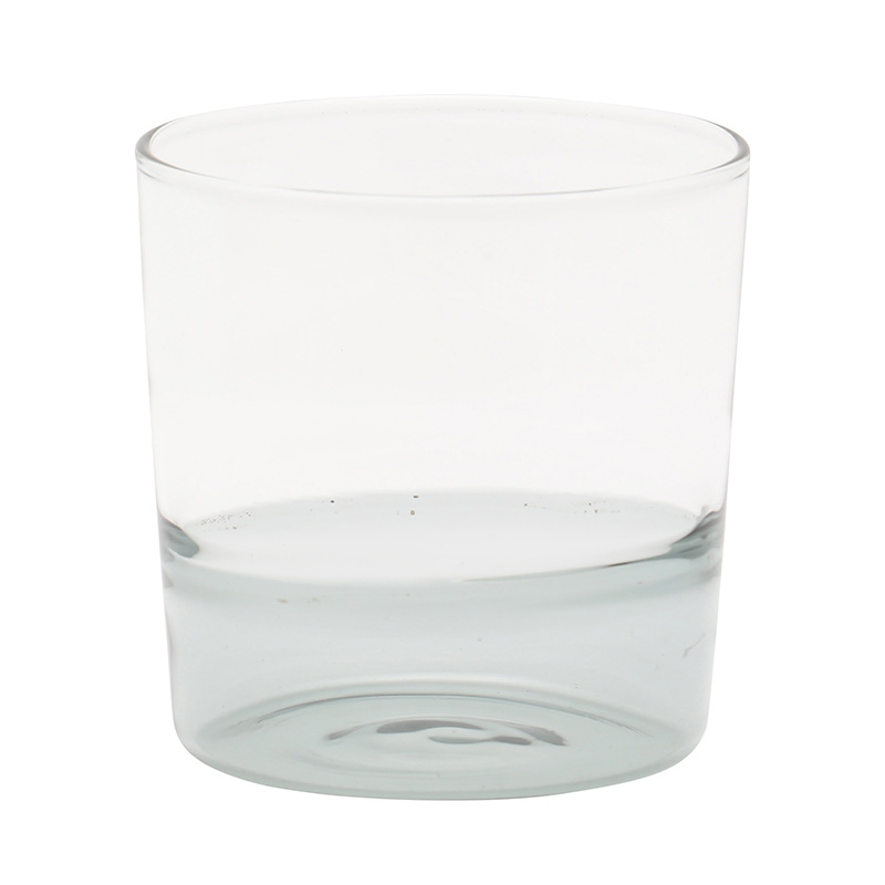 LIGHT COLOR WATER TUMBLER SMOKE/CLEAR