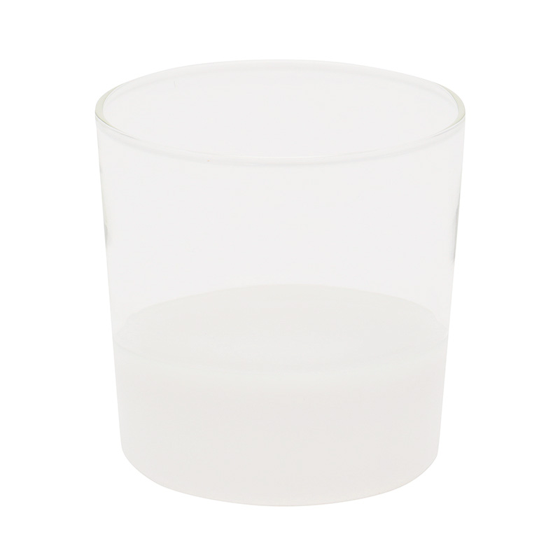 LIGHT COLOR WATER TUMBLER WHITE/CLEAR