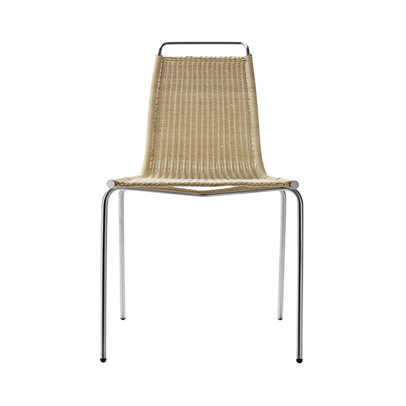 PK1 WICKER SEAT/STAINLESS