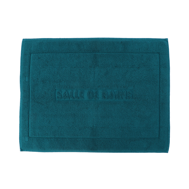 ORIGINAL PLATA BATH MAT 50X70 PEACOCK BLUE