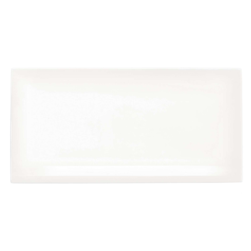 ASA RECTANGULAR PLATE 29X14.5 OFF-WHITE
