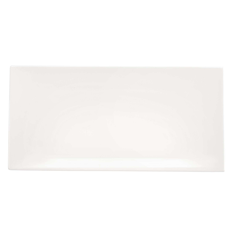 ASA RECTANGULAR PLATE 32X16 OFF-WHITE
