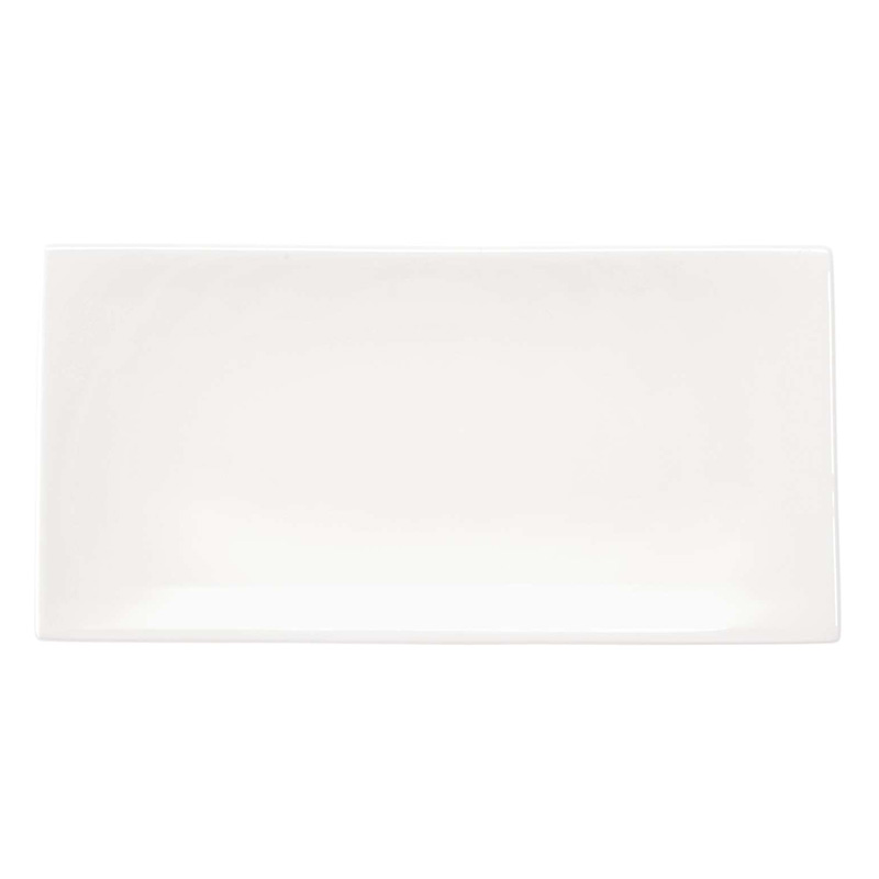ASA RECTANGULAR PLATE 23x11 OFF-WHITE