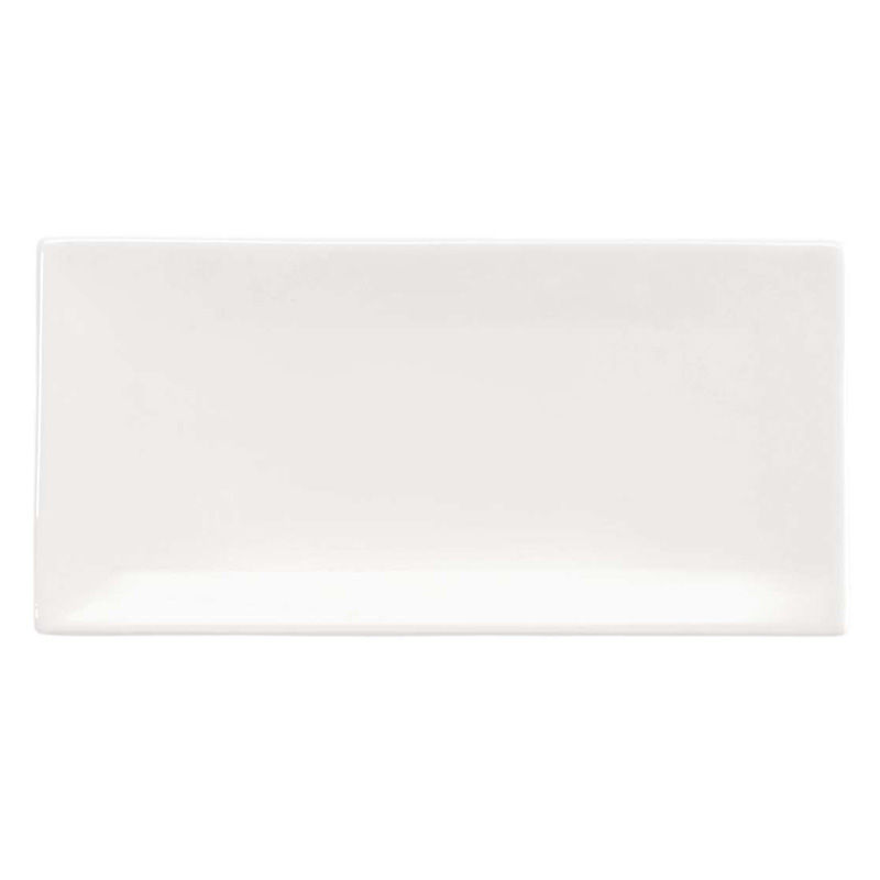 ASA RECTANGULAR PLATE 17x8.5 OFF-WHITE