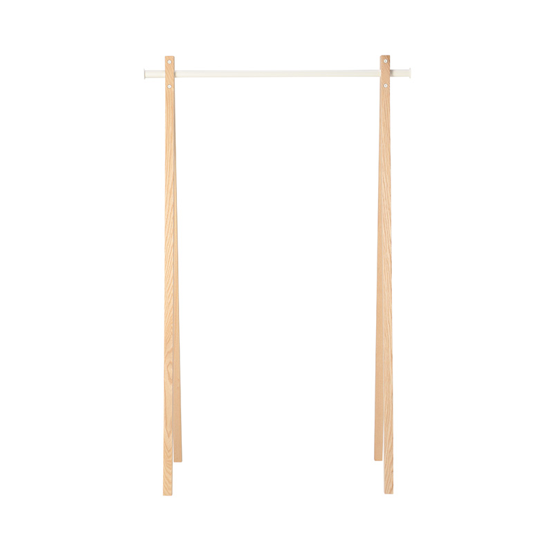 NOMESS DRESS-UP 90 GARMENT RACK NATURAL/WHITE