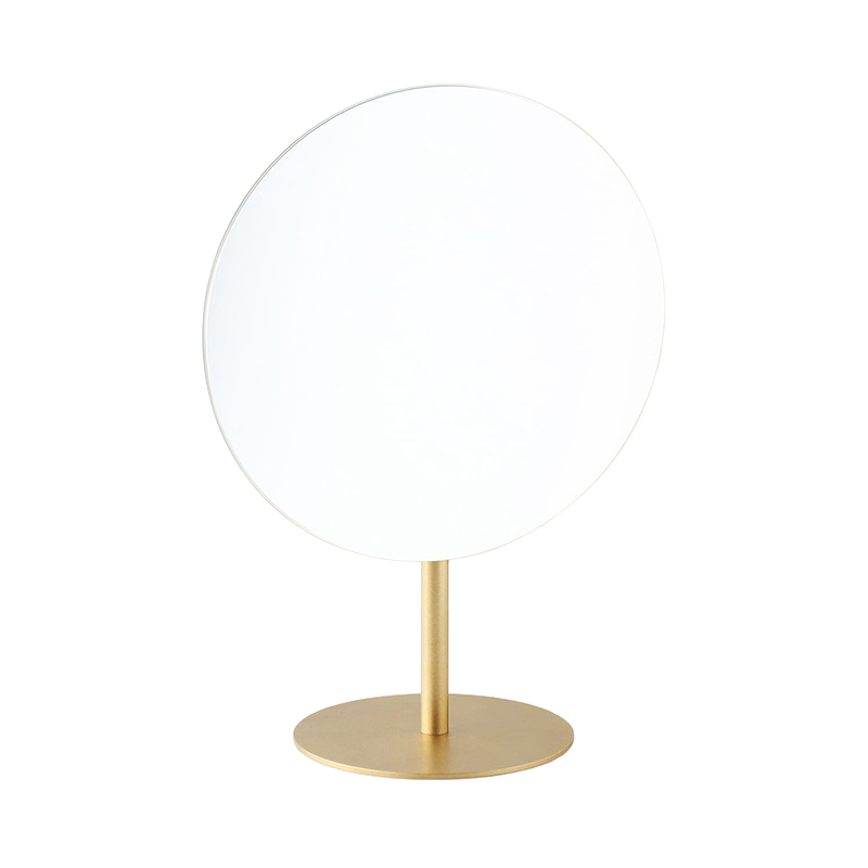BP.MAKEUP MIRROR BRASS
