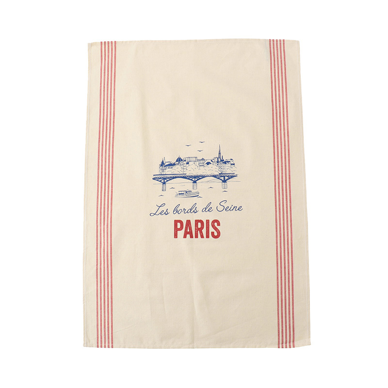 TISSAGE DE L'OUEST TEA TOWEL PARIS SEINE