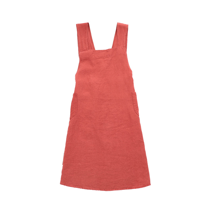 LINGE PARTICULIER JAPANESE ADULT APRON CARMINE RED