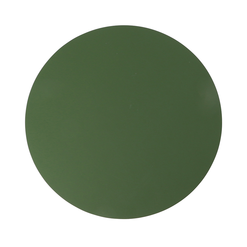 RUCA ROUND PLACEMAT 36CM FOREST GREEN