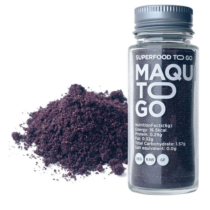 MAQUI TO GO RAW MAQUI BERRY POWDER 25G