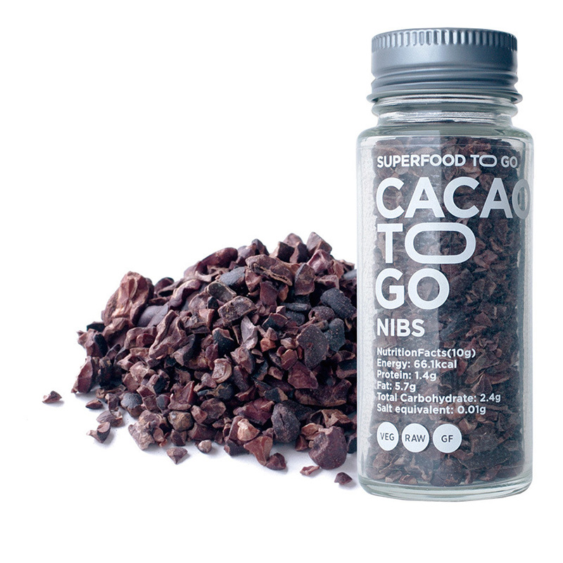 CACAO TO GO RAW CACAO NIBS 30G