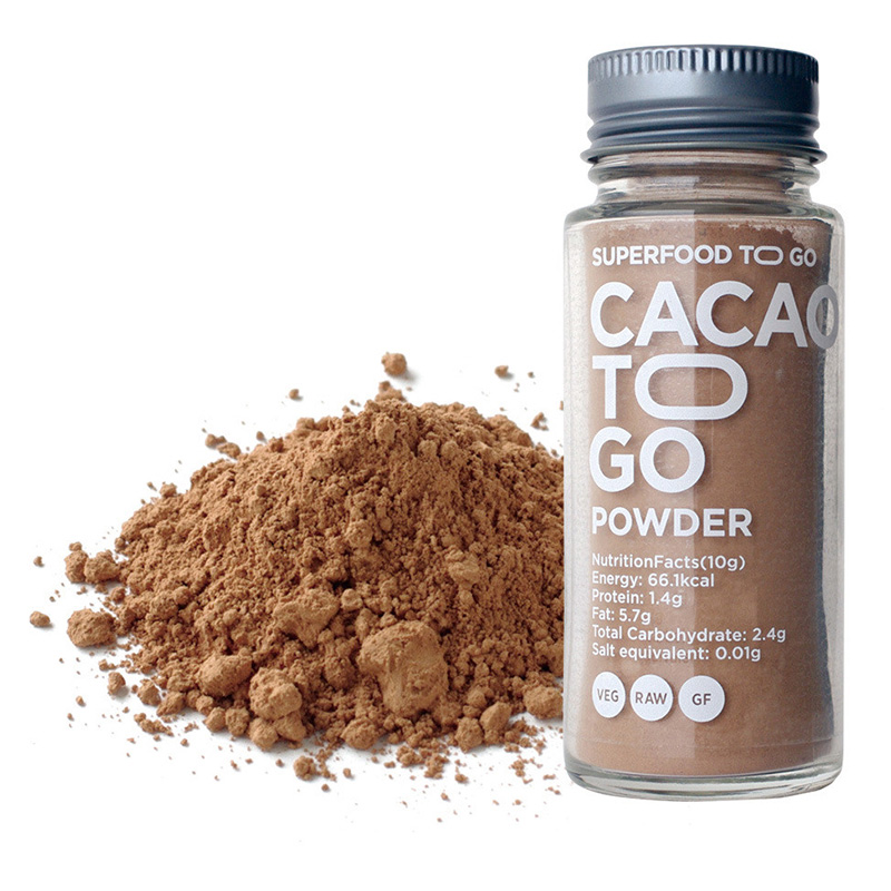 CACAO TO GO POWDER RAW CACAO POWDER 20G