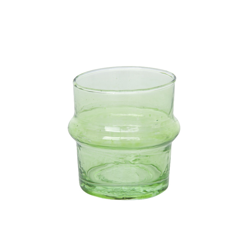 UNC TEALIGHT HOLDER LIGHT GREEN