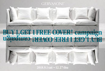 <strong>GERVASONI buy 1 & get 1 free cover</strong>